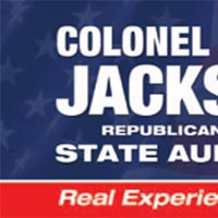 Colonel Jack Jackson for State Auditor Brochure